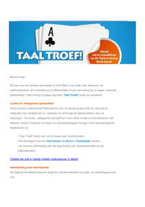 E-zine Taal Troef!